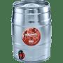 Birra Bibibir Bibidunkel - 5,2% - Fustino 5 Lt